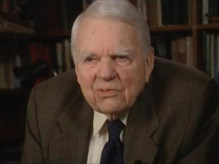 Interview with Andy Rooney
